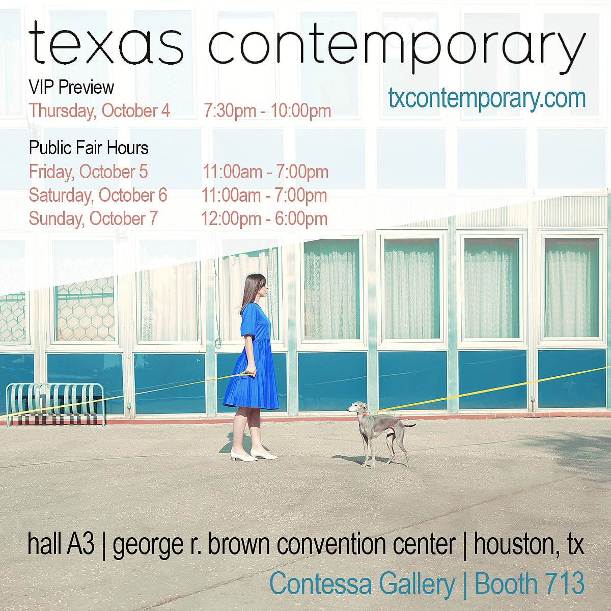 PRESS RELEASE: Texas Contemporary | 2018, Oct  4 - Oct  7, 2018